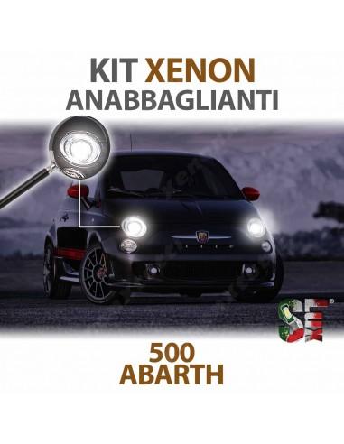 lampade luci xenon h1 500 abarth canbus 6000k lampadine bulbi illuminazione xenon