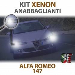 lampade xenon anabbaglianti alfa romeo 147 6000k canbus bulbi illuminazione lampadine luci xenon xenonlight