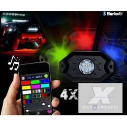 LED RGB SOTTO SCOCCA WIFI IP67 AUTO MOTO FUORISTRADA