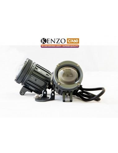 Fari Led Aggiuntivi Bi-Led Kenzo CX60 Anabbaglianti Abbaglianti low beam high beam led light