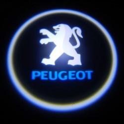 logo sotto porta Peugeot