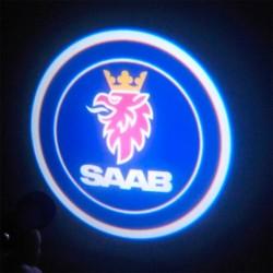 Logo LED Saab