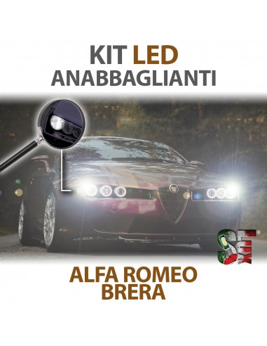 Lampade Led Anabbaglianti H7 per ALFA ROMEO Brera con tecnologia CANBUS