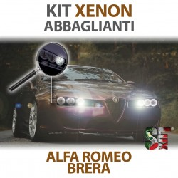 Lampade Xenon Anabbaglianti H7 per ALFA ROMEO Brera (2006 - 2011) con tecnologia CANBUS