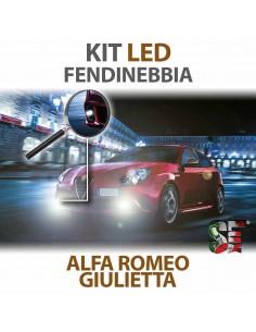 Lampade Led Fendinebbia H3 per ALFA ROMEO Giulietta 2010 in poi con tecnologia CANBUS