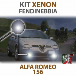 Lampade Xenon Fendinebbia H1 per ALFA ROMEO 156 (1997 - 2006) con tecnologia CANBUS