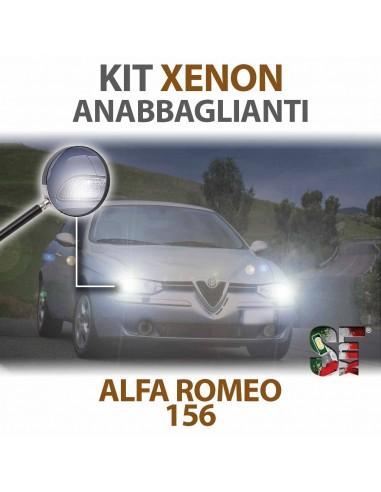 Lampade Xenon Anabbaglianti H7 per ALFA ROMEO 156  tecnologia CANBUS