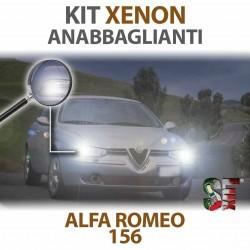 Lampade Xenon Anabbaglianti H7 per ALFA ROMEO 156 (1997 - 2006) con tecnologia CANBUS