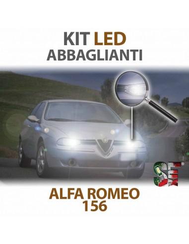 Lampade Led Abbaglianti H1 per ALFA ROMEO 156 tecnologia CANBUS