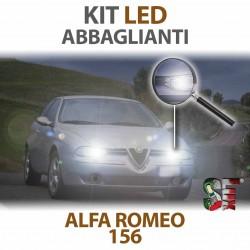 Lampade Led Abbaglianti H1 per ALFA ROMEO 156 (1997 - 2006) con tecnologia CANBUS