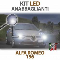 Lampade Led Anabbaglianti H7 per ALFA ROMEO 156 (1997 - 2006) con tecnologia CANBUS