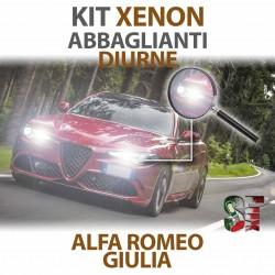 Lampade Xenon Diurna e Abbaglianti H15 per ALFA ROMEO Giulia (2015 in poi) con tecnologia CANBUS