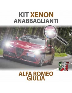 Lampade Xenon Anabbaglianti H7 per ALFA ROMEO Giulia (2015 in poi) con tecnologia CANBUS