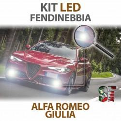 Lampade Led Fendinebbia H11 per ALFA ROMEO Giulia (2015 in poi) con tecnologia CANBUS