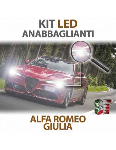 Lampade Led Anabbaglianti H7 per ALFA ROMEO Giulia (2015 in poi) con tecnologia CANBUS