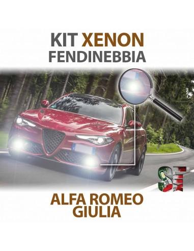 Lampade Xenon Fendinebbia H11 per ALFA ROMEO Giulia (2015 in poi) con tecnologia CANBUS