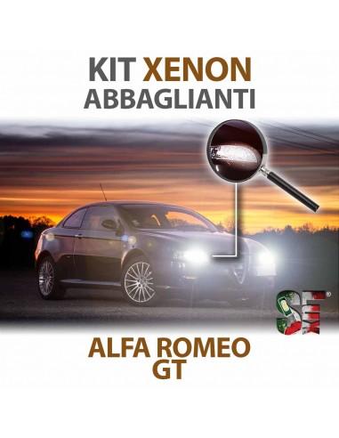 Lampade Xenon Abbaglianti H7 per ALFA ROMEO GT (2003 - 2010) con tecnologia CANBUS