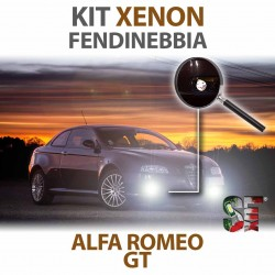 Lampade Xenon Fendinebbia H1 per ALFA ROMEO GT (2003 - 2010) con tecnologia CANBUS
