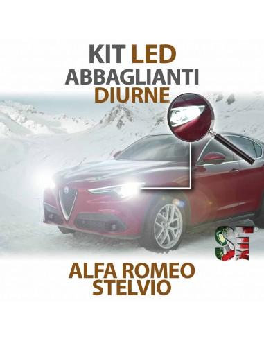 Lampade Led Diurna e Abbaglianti H15 per ALFA ROMEO Stelvio (2016 in poi) con tecnologia CANBUS