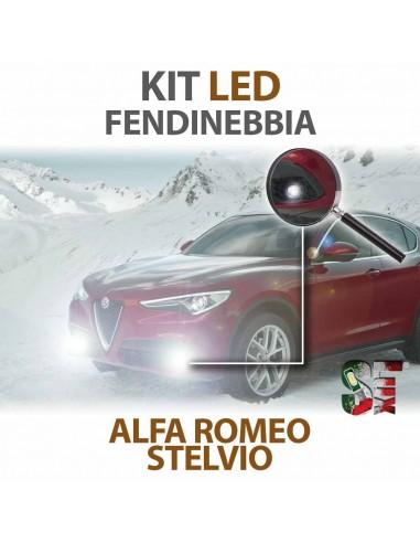 Lampade Led Fendinebbia H11 per ALFA ROMEO Stelvio (2016 in poi) con tecnologia CANBUS