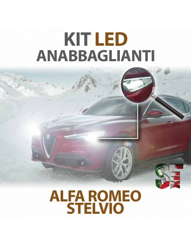 Lampade Led Anabbaglianti H7 per ALFA ROMEO Stelvio (2016 in poi) con tecnologia CANBUS