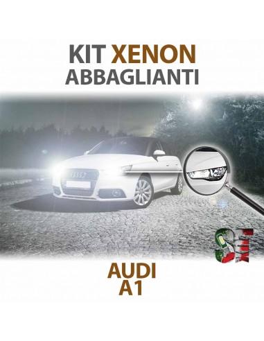 Lampade Xenon Abbaglianti H1 AUDI A1 8X1 8XK (2010 - 2018) con tecnologia CANBUS