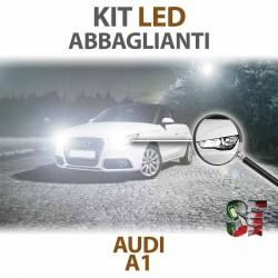 Lampade Led Abbaglianti H1 per AUDI A1 8X1 8XK (2010 - 2018) con tecnologia CANBUS