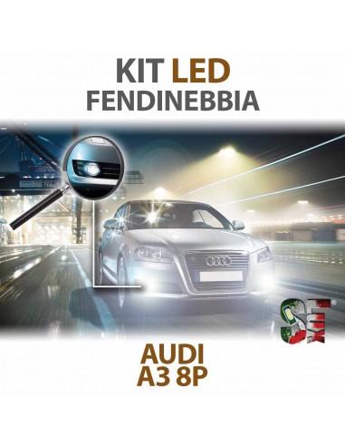 Lampade Led Fendinebbia H11 per AUDI A3 - 8P 8PA (2003 - 2013) con tecnologia CANBUS