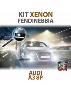 Lampade Xenon Fendinebbia H11 per AUDI A3 - 8P 8PA (2003 - 2013) con tecnologia CANBUS