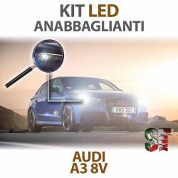 Lampade Led Anabbaglianti H7 per AUDI A3 8V (2012 in poi) con tecnologia CANBUS