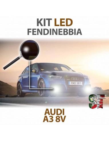 Lampade Led Fendinebbia H8 per AUDI A3 8V (2012 in poi) con tecnologia CANBUS
