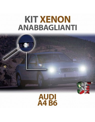 Lampade Xenon Anabbaglianti H7 per AUDI A4 B6  (2000 al 2004) con tecnologia CANBUS