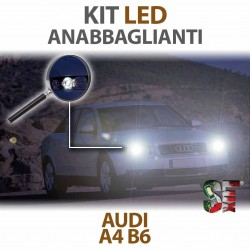 Lampade Led Anabbaglianti H7 per AUDI A4 B6  (2000 al 2004) con tecnologia CANBUS