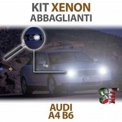 Lampade Xenon Abbaglianti H7 per AUDI A4 B6  (2000 al 2004) con tecnologia CANBUS