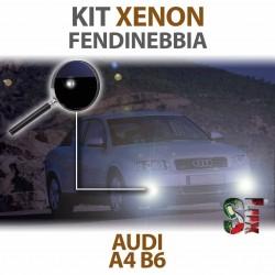 Lampade Xenon Fendinebbia H11 per AUDI A4 B6  (2000 al 2004) con tecnologia CANBUS