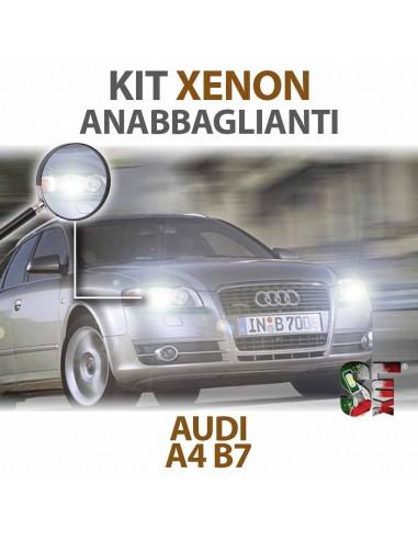 Lampade Xenon Anabbaglianti H7 per AUDI A4 B7 (2004 - 2008) con tecnologia CANBUS