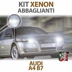 Lampade Xenon Abbaglianti H7 per AUDI A4 B7 (2004 - 2008) con tecnologia CANBUS