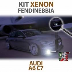 Lampade Xenon Fendinebbia H11 per AUDI A6 C7 (2010 - 2018) con tecnologia CANBUS