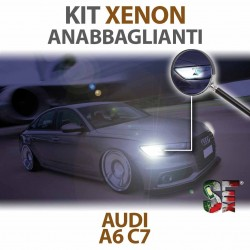 Lampade Xenon Anabbaglianti H7 per AUDI A6 C7 (2010 - 2018) con tecnologia CANBUS