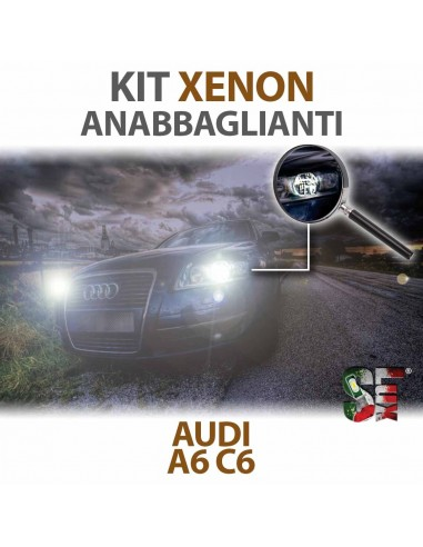 KIT XENON ANABBAGLIANTI per AUDI A6 (C6) specifico CANBUS