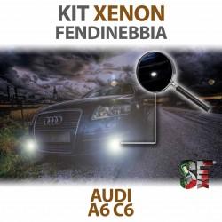 Lampade Xenon Fendinebbia H11 per AUDI A6 C6 (2004 - 2011) con tecnologia CANBUS