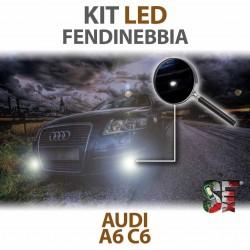 Lampade Led Fendinebbia H11 per AUDI A6 C6 (2004 - 2011) con tecnologia CANBUS