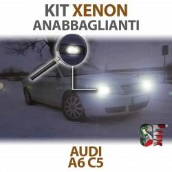 Lampade Xenon Anabbaglianti H7 per AUDI A6 C5 (1997 - 2005) con tecnologia CANBUS