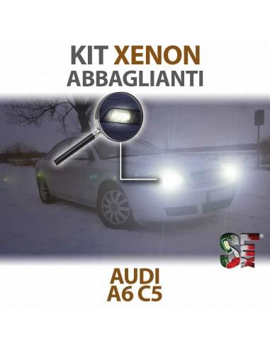 KIT XENON ABBAGLIANTI per AUDI A6 (C5) specifico CANBUS