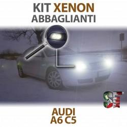 Lampade Xenon Abbaglianti H7 per AUDI A6 C5 (1997 - 2005) con tecnologia CANBUS