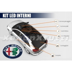 KIT FULL LED INTERNI PLAFONIERA ALFA ROMEO MITO
