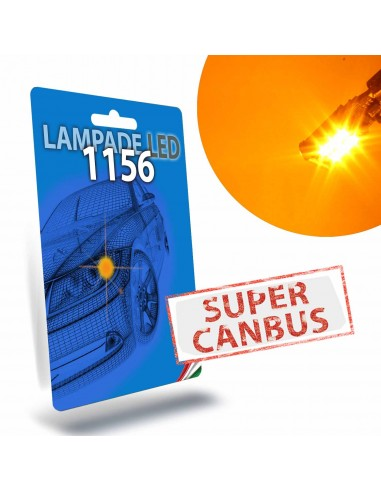 1156 BA15S BAU15S PY21W Super Canbus Arancione Freccia Indicatore di Direzione STAR Series