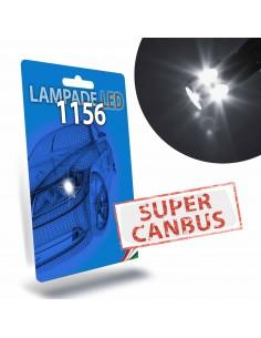 1156 BA15S P21W Super Canbus Bianco 6000k Posizione Diurna STAR Series no resistenza