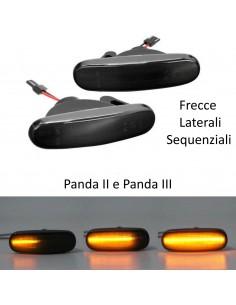 Frecce Laterali LED Dinamiche FIAT Panda 2 e 3 gemma laterale indicatore di direzione
