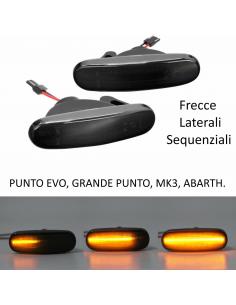 Frecce Laterali LED Dinamiche FIAT Grande Punto, Punto Evo, MK3 Sequenziale gemma parafango laterale